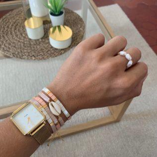 Bracelets Kara Tons Rose