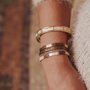 Bracelets tons Marrons New Kara