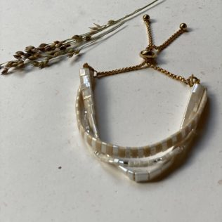 Bracelet KARA Mitsu – Beige