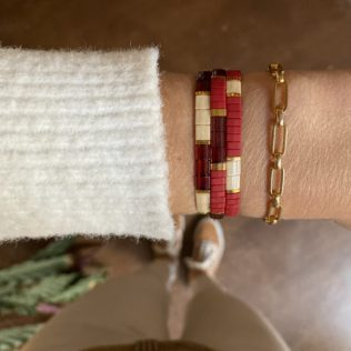 Bracelet Kara – Rouge