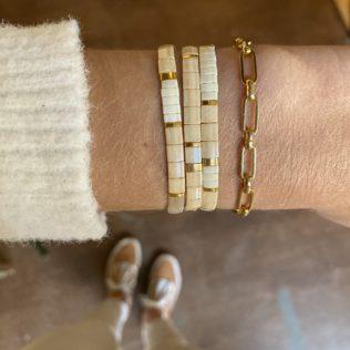 Bracelet Kara – Beige