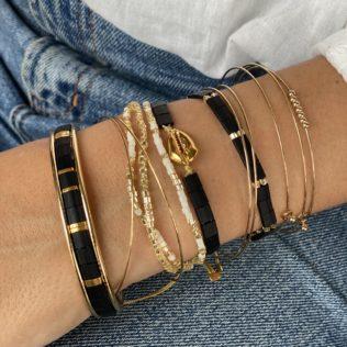 Bracelet New Kara – Tons Noir