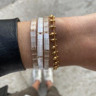 Bracelet New Kara – Tons Blancs