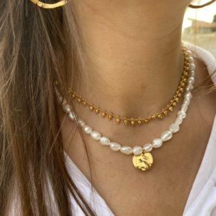 Collier Petites Perles boules
