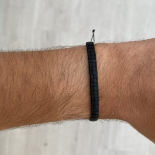 Bracelet Kara Homme – Noir