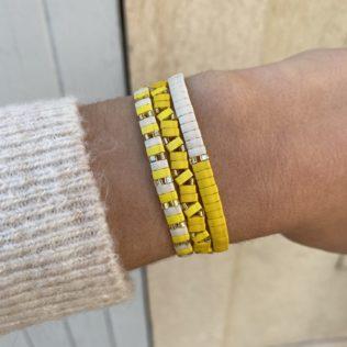 Bracelet Kara Summer – Jaune