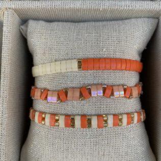 Bracelet Kara Summer – Corail