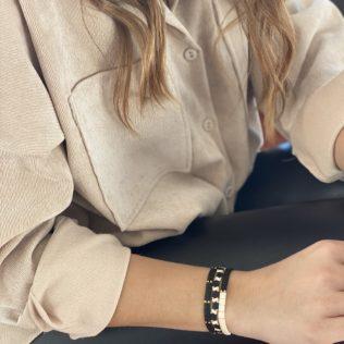 Bracelet Kara Intersaison – Noir