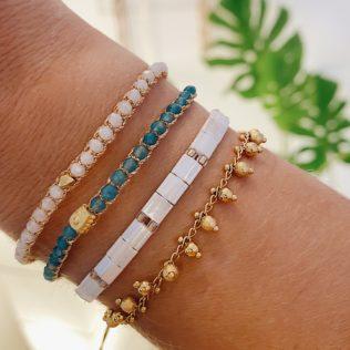Bracelet Uluwa – Apatite Bleu