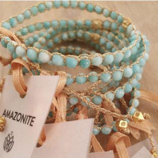 Bracelet Uluwa – Amazonite