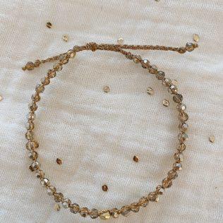 Bracelet Uluwa – Cristal Gris