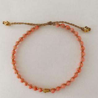 Bracelet Uluwa – Corail Rose