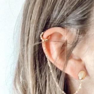 Bague d'oreille chaîne
