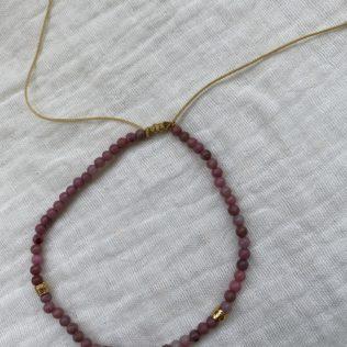 Bracelet Cheville – Ursulita noir ou rose