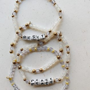 Bracelet personnalisé Vitamin Sea – Lila