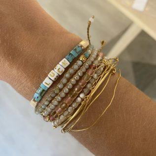 Bracelet Kara Personnalisé – Turquoise