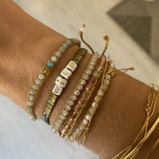 Bracelet Kara Personnalisé – Kaki