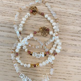 Bracelet SORMIOU – Petites perles Roses
