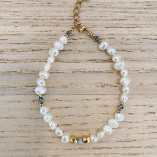 Bracelet SORMIOU – Petites perles Bleues