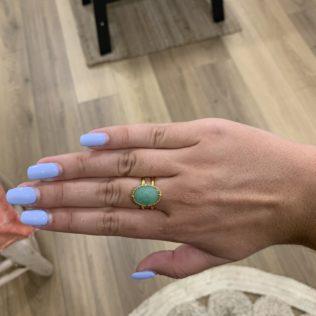 Bague Sélection Réglable – Endoume Turquoise