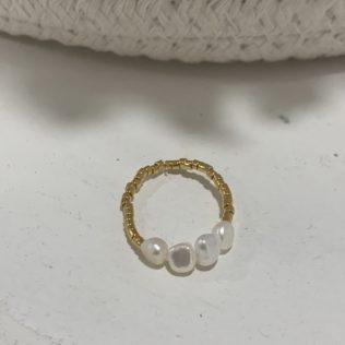 Bague Création – Perles
