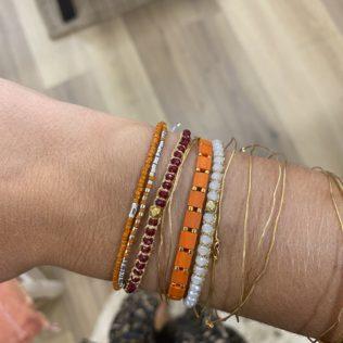 Bracelet Uluwa – Cristal Rouge
