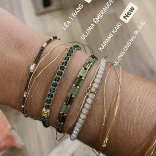 Bracelet Perles Japonaises