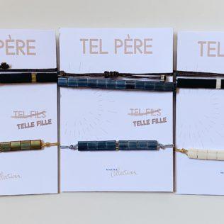 Duo Bracelets Tel père / Tel Fille