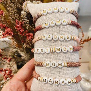 Bracelet personnalisé MANAO – Thème Rose