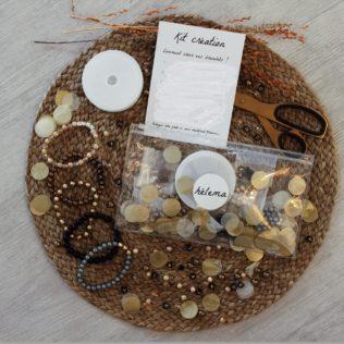 Kit Création – 3 bracelets à personnaliser