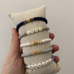 Bracelet personnalisé MANAO – COLD