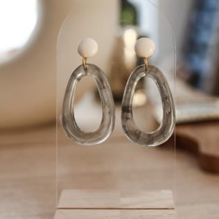 Boucles d'Oreilles Seventies Ten