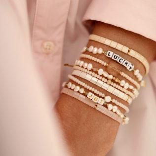 Bracelets Kara Printemps – Nude