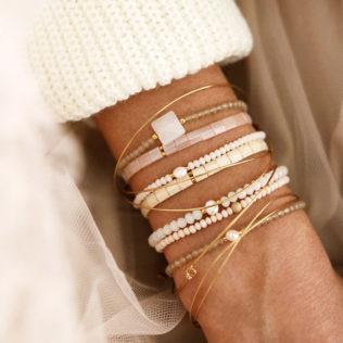 Bracelet Nude – Blanc