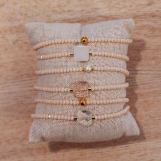 Bracelet Nude – Rose pâle