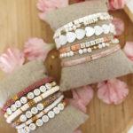 Bracelet Uni Manao – Rose Marbré
