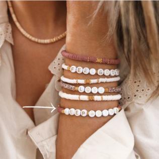 Bracelet Personnalisé Manao Vieux Rose