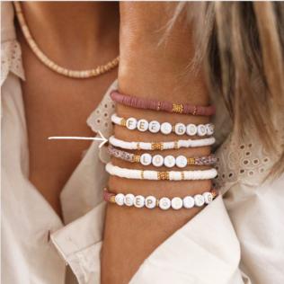 Bracelet Uni Manao – Blanc Crème