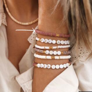 Bracelet Uni Manao – Vieux Rose