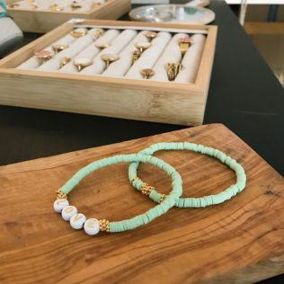 Bracelet Personnalisé Manao Vert Sauge
