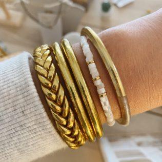 Bracelet Jonc NACRE – Capsule Fête des Mères