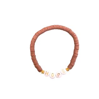 Bracelet Personnalisé Manao Taupe