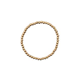 Bracelet GOLDEN HOUR – Boules dorées Uni