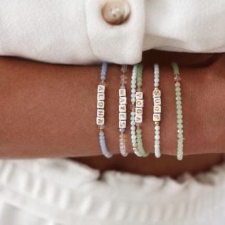 Bracelet IBIZA à personnaliser – Thème Bleu