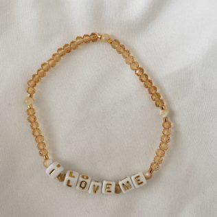 Collection IBIZA – Bracelet I love me