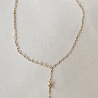 Collier Simple Tanit Rose